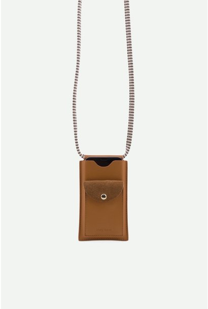 Phone pouch Cider brown