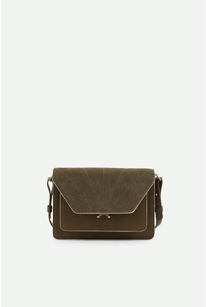 Shoulder bag olive green
