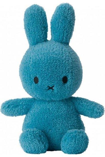 Nijntje fluffy blauw, 23 cm