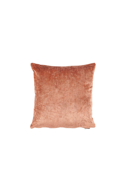 Vietnam days velvet pink cushion 40x40cm
