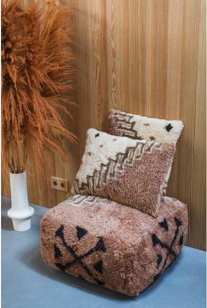 Vintage noon wool cushion 40x60cm