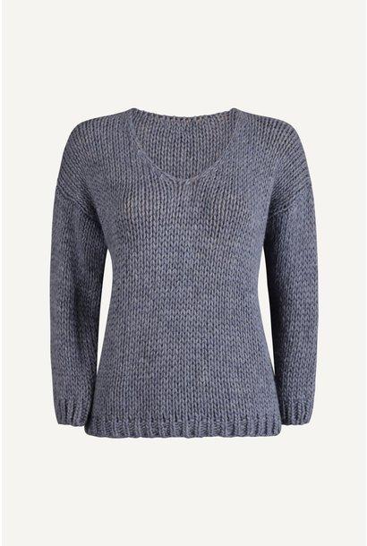 Pullover - Blauw - 40701E