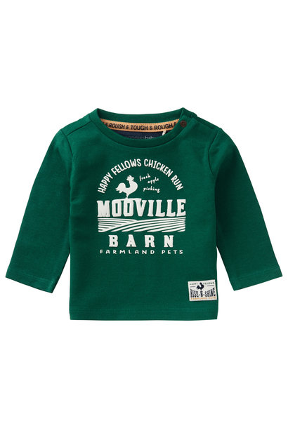 Shirt LS Swellendam - Farm Green