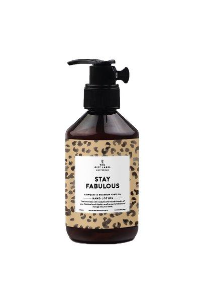 Hand lotion, 250ml, Stay fabulous,