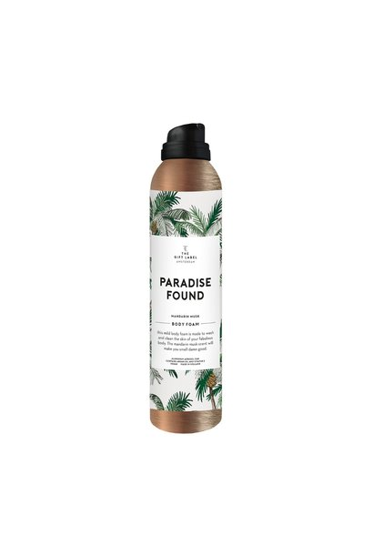 Body foam, 200ml, Paradise found