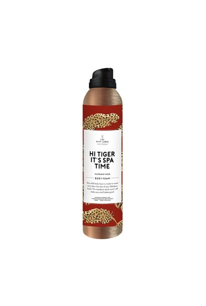 Body foam, 200ml, Hi tiger it's spa time
