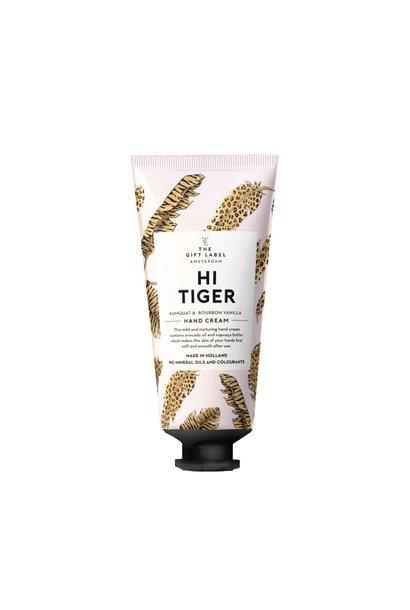 Hand cream tube, Hi tiger