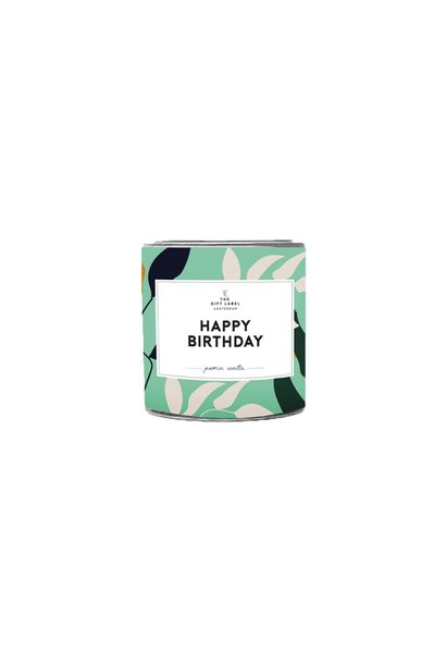 candletin, happy birthday, fresh cotton