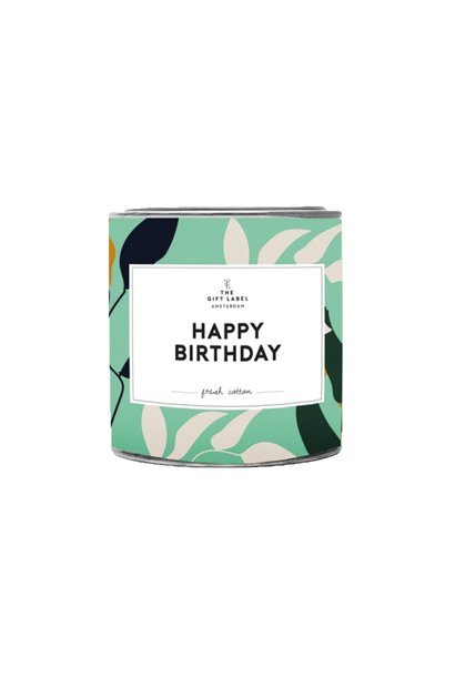 Candletin, Happy birthday, Jasmine vanilla