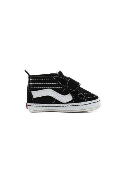 Vans Sk8-Hi Crib - Black/true white