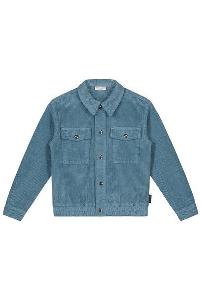 Arden corduroy jacket, forest blue