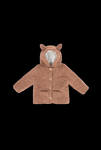 Teddie hooded jacket fox, hazel