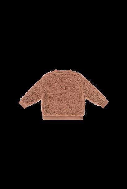 Teddie crewneck sweater, hazel