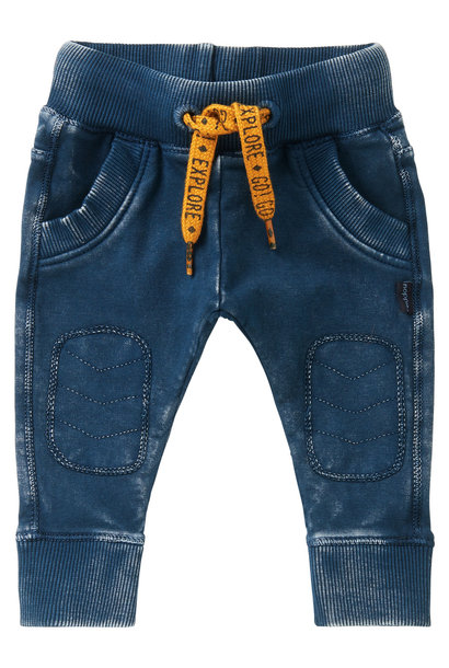 Slim fit pants vredenburg, midnight navy
