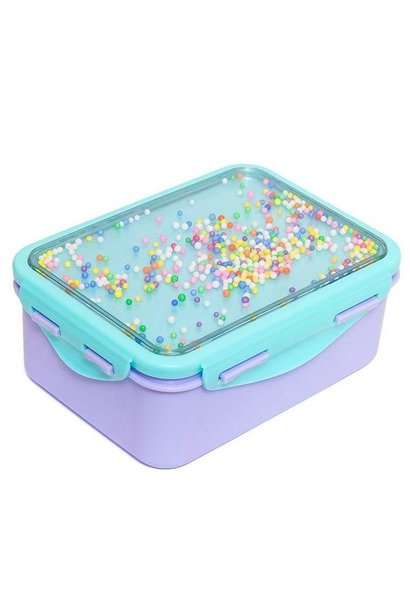 Lunchbox, popsicles lilac