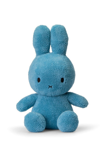 Nijntje fluffy blauw, 33 cm