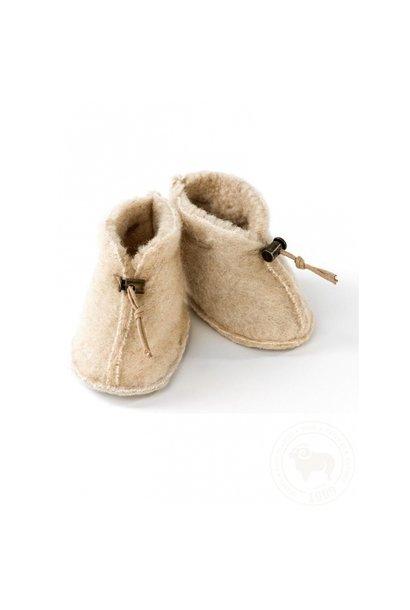 Babyslofjes emo wool - beige
