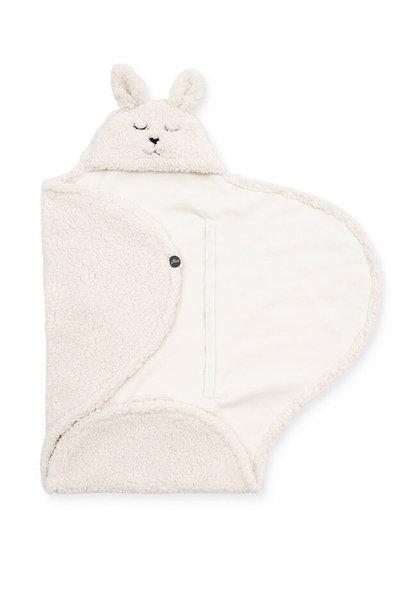 Wikkeldeken bunny, off-white