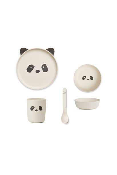 Bamboo box set panda creme de la creme