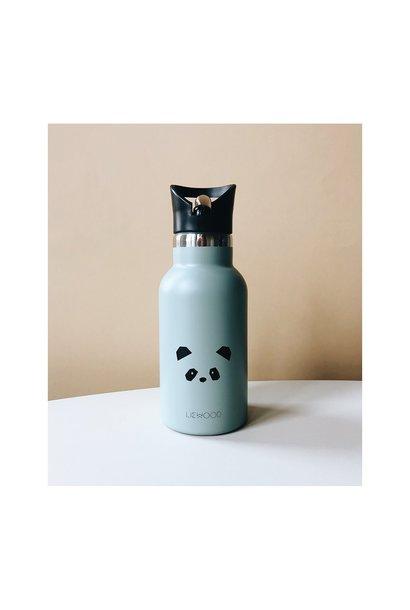 Anker water bottle panda - dusty mint