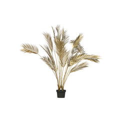 Palm Kunstplant Goud 110cm