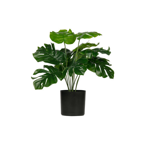WOOOD Monstera Kunstplant Groen 40cm