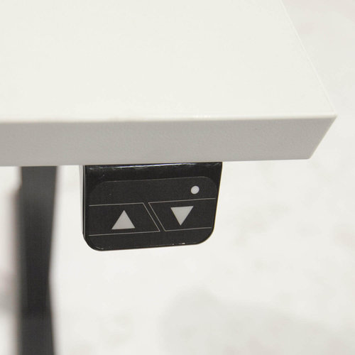 Elektrisch zit-sta bureau Dextro Basic Wit