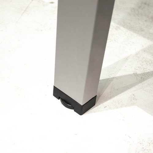 Elektrisch Duo zit-sta bureau Dextro Plus -Aluminium