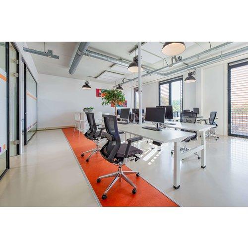 Elektrisch Duo zit-sta bureau Dextro Plus Zwart