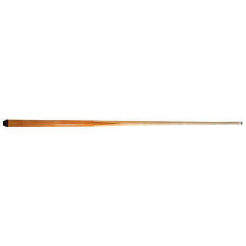 1 delige keu van maple/esdoorn hout. Lengte keu is 120 cm. Voorzien van een lijmpomerans.