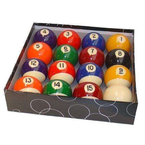 Poolballen 48 mm. polyester kwaliteit