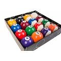 Poolballen 57,2 mm. van Polyester kwaliteit