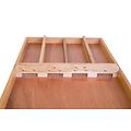 Heemskerk De Heemskerk HS-30 Blank Sjoelbak is een sjoelbak vervaardigd uit duurzame houtsoorten als Abura (zijkanten), Beuken (poortenbalk) en Meranti (bodem).