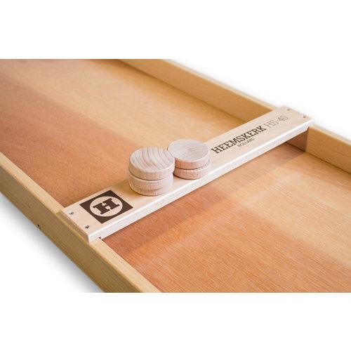 Heemskerk Originele handvervaardigde Heemskerk sjoelbak van zware kwaliteit, uitgevoerd  in wedstrijdformaat.