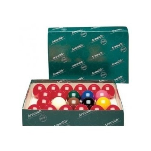 Snookerballen 57,2 mm. Hoge Aramith kwaliteit