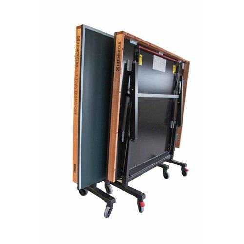 De Heemskerk tafeltennistafel Novi 2400 transport is goedgekeurd door de NTTB (Nederlandse TafelTennis Bond) en dus gekwalificeerd als officiële wedstrijdtafel.