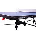 Originele Heemskerk tafeltennistafel geschikt voor beginners en gevorderden, uitgevoerd in degelijk compact inklapbaar model.