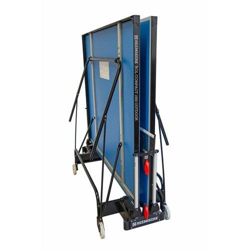 Deze Heemskerk tafeltennistafel is geschikt voor beginners en gevorderden en uitgevoerd als een degelijk compact inklapbaar model.