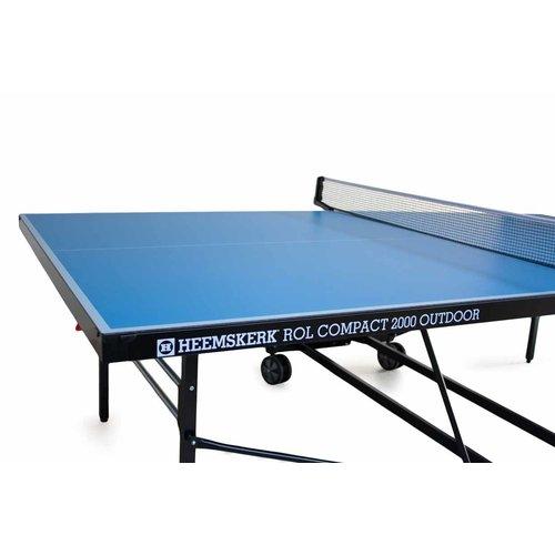 Deze Heemskerk tafeltennistafel van zware kwaliteit is voor zowel particulier gebruik als voor scholen/instellingen geschikt.