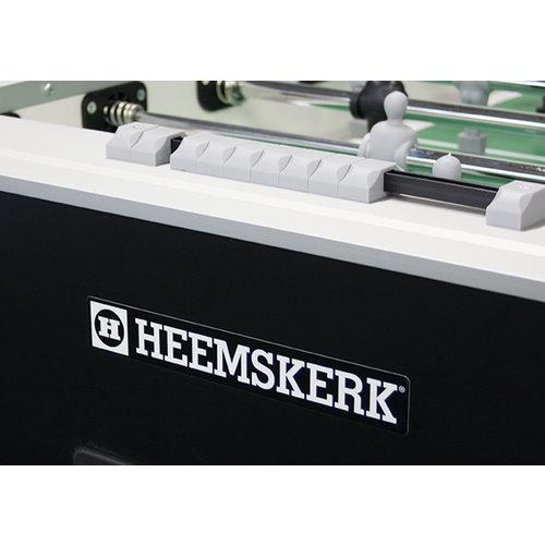 De nieuwe voetbaltafel Heemskerk Tactic is het nieuwe parade paardje van de Heemskerk collectie voetbaltafels.