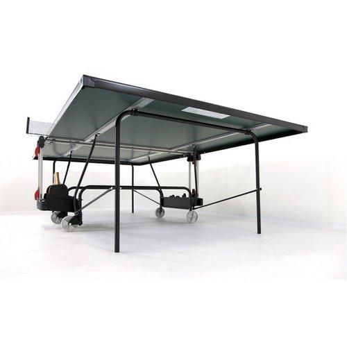 Heemskerk Deze Heemskerk tafeltennistafel is geschikt voor beginners en gevorderden en uitgevoerd als een degelijk compact inklapbaar model.