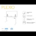 Plexio transparant opzetwand