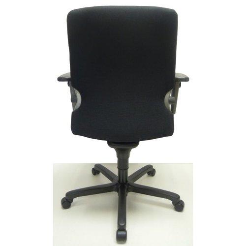 Bureaustoel Comforto 77 zwart nieuwe stof
