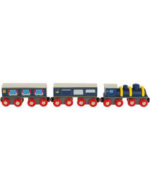 Small foot world Houten Trein met Locomotief