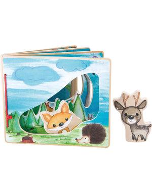 Small foot design Houten Plaatjesboek 'Het bos roept!'