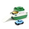 Veerboot met 2 auto's 'Groen/Wit'