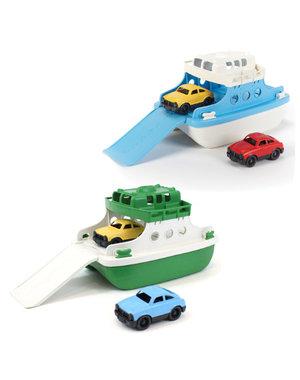 Green Toys Veerboot met 2 auto's