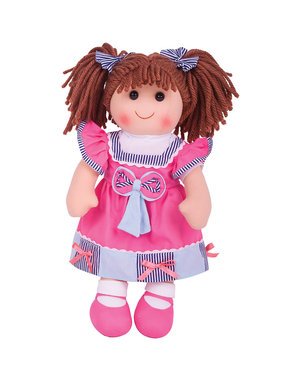 Bigjigs Toys Lappenpop 'Emma' (Large)