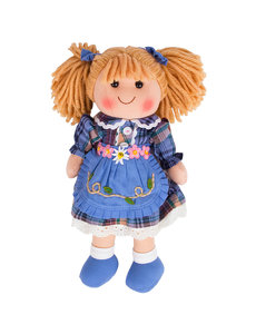 Bigjigs Toys Lappenpop 'Katie' (Medium)
