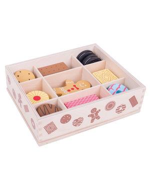 Bigjigs Toys Houten Box met Koekjes